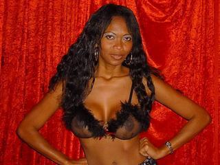 Schwarze Frauen Webcam